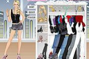Carrie Underwood Dress Up Game
