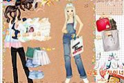 Shopping Girl 4 Dress Up