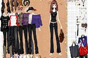Girl In Denim Jeans